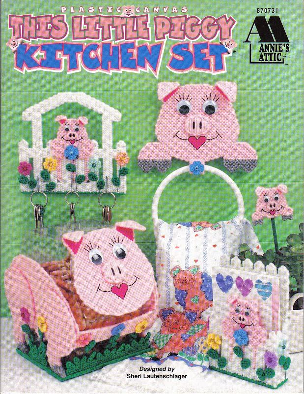 Pig Machine Embroidery Designs For Kitchens