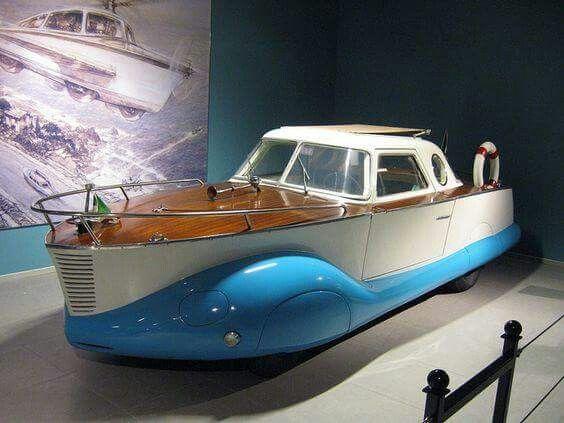 1953 Fiat 1100 Boatcar