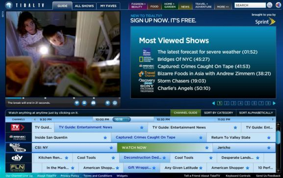 Best Sites To Watch TV On Your Computer Over The Internet   image