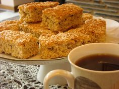Healthy 'n Delicious Rusks- Butter - use coconut oil instead Flour - use wholewheat flour instead Yoghurt/buttermilk - use Greek yoghurt Brown sugar - use stevia for baking Let's rock this recipe and make it a healthy snack!!