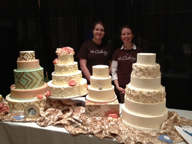 The Cakery Wedding Cake Display At St Louis Bride Magazineu0027s Wedding Show  Jan 13 At The Chase Park Plaza Hotel, St. Louis MO Www.thecakerybakery.nu2026