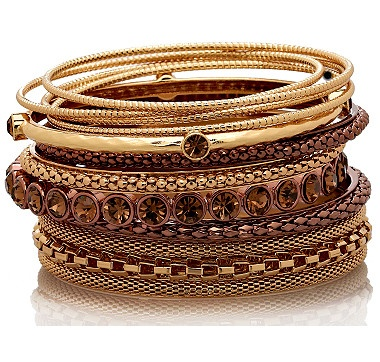 Featuring an exceptional value for a complete bracelet wardrobe, these designer-quality bracelets are just what you've been looking for when it comes to hot trends for the season.