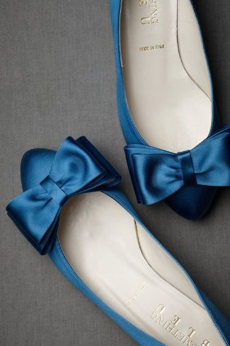 Bowtie Flats in Shoes & Accessories Shoes at BHLDN