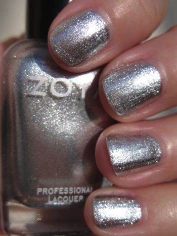 Zoya Trixie  Out of this world  glittery silver that s a great one for    Zoya Trixie