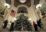 Gov. Lincoln Chafee: It's Not 'Tradition' to Call It a Christmas Tree.  What a bunch of bunk!  What holiday is this tree a symbol of.  Christmas?  Then it's a Christmas tree.