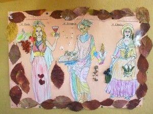 """Οι δικοί μας """"ζωντανοί πίνακες"""" για το λιομάζωμα! - Andria's Home"""