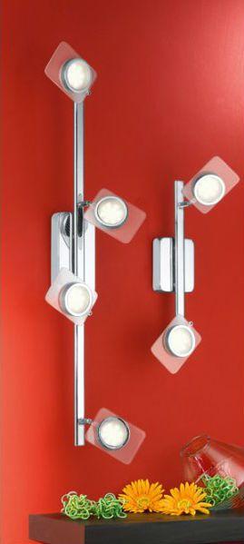 Ce spot LED futuriste de la marque Eglo apporte une touche hidalgo et splendide à votre décoration intérieure. Un bienfait pour toutes les pièces de votre demeure.