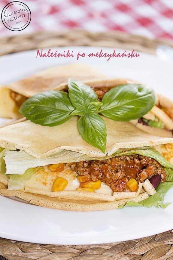 Propozycja na dzisiejszy obiadek - Naleśniki po meksykańsku z sosem czosnkowym mmmm było pycha  #nalesniki http://ulubioneprzepisy.com/2014/07/30/nalesniki-po-meksykansku/