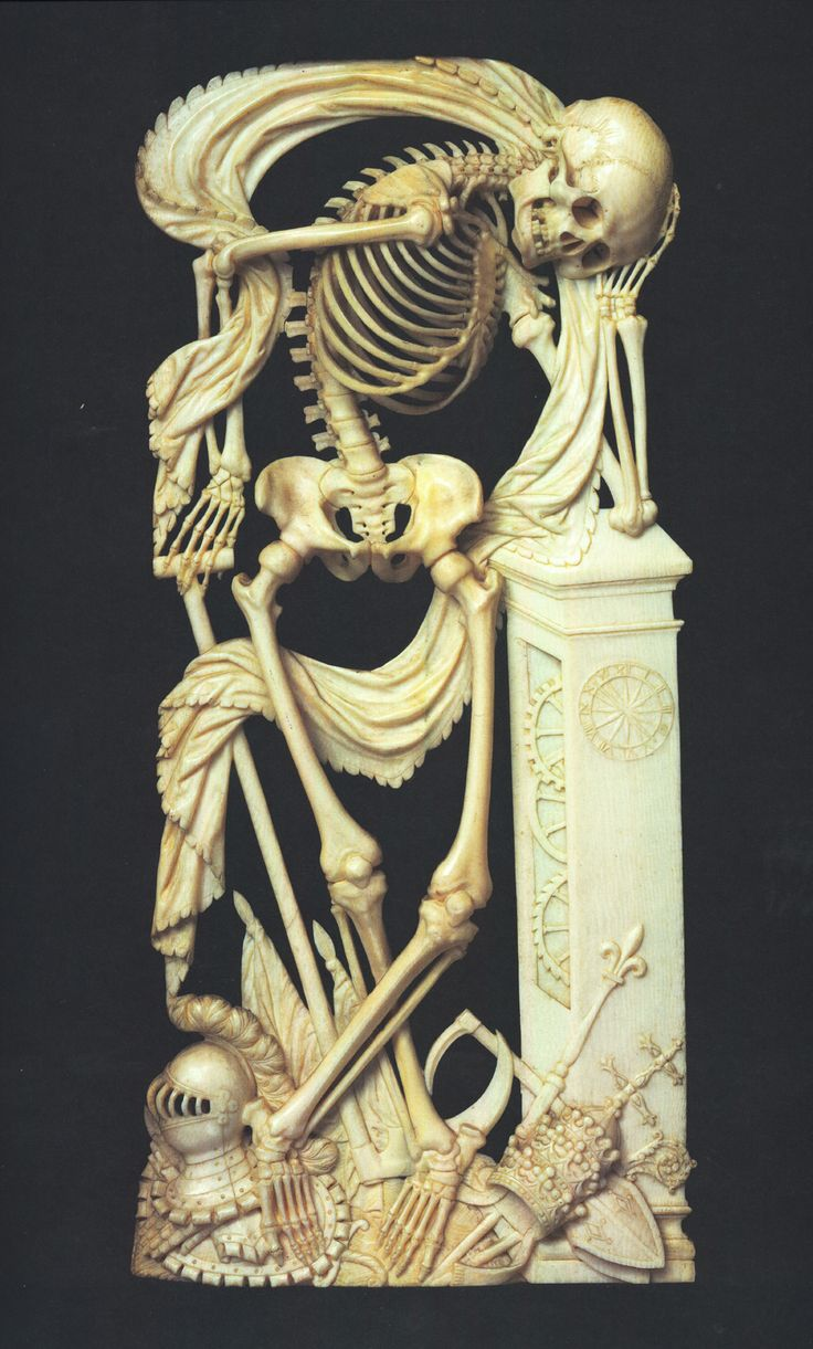 Ivory carving, 1640