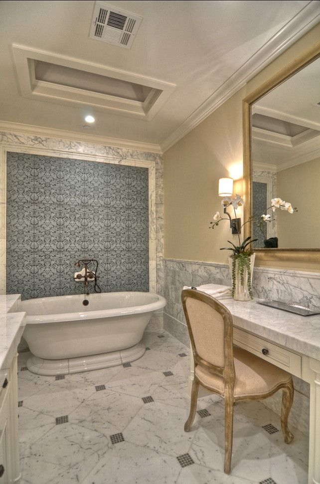 traditional bathroom accent wall design pictures remodel decor and ideas