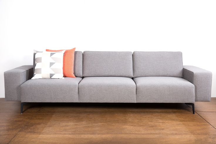 Cube Sofa has awesome shape and comfort. Can be made with fabric or leather.