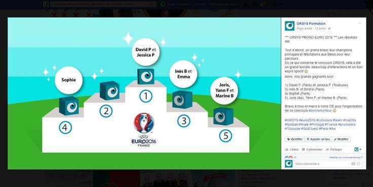 Animations d'équipes Orsys – Cohésion d'équipe Concours interne orsys : EURO 2016 #football #embauche #recrutement #management #perspectives Découvrez nos offres d'emploi : http://www.orsys.fr/?mode=recrutement