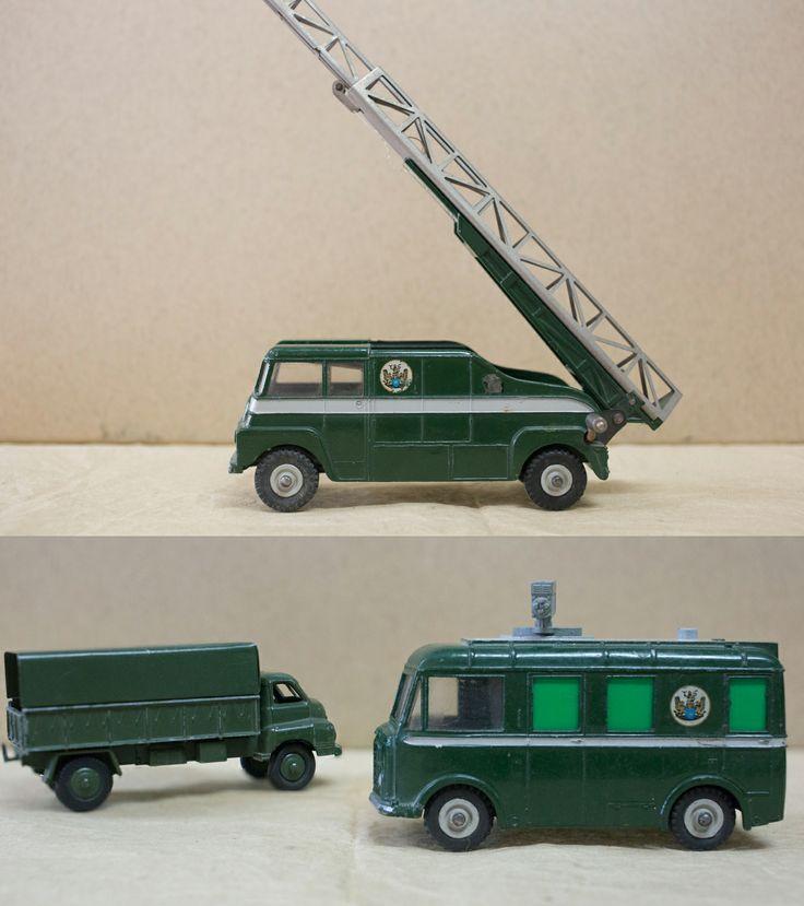 British Service Dinky Trucks