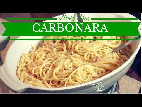 bimby spaghetti alla carbonara ricetta rivisitata. Black Bedroom Furniture Sets. Home Design Ideas