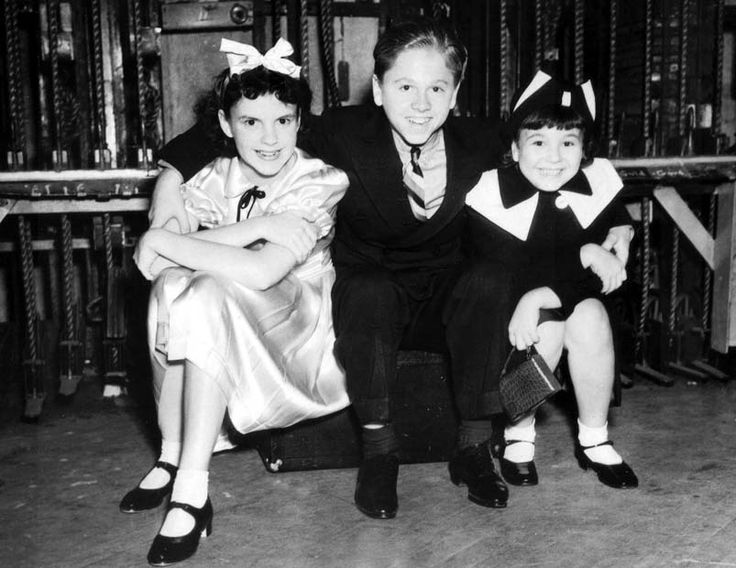 Judy Garland, Mickey Rooney and Jane Withers
