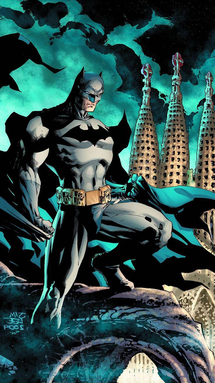 ☺fonddecraniphonehd439 Historieta de batman, Batman