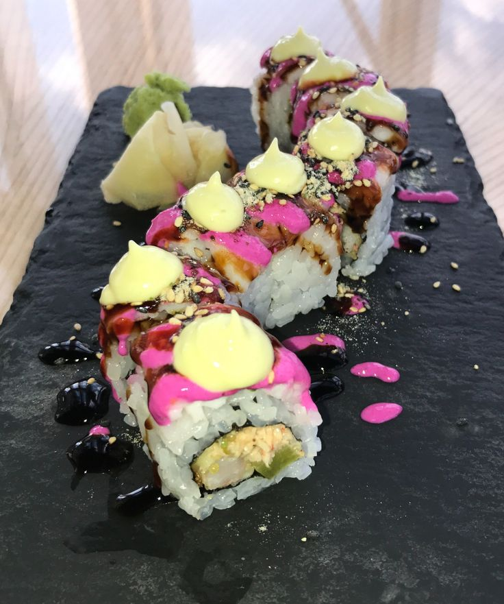 Tiger Maki from Sushi Samba - Top 10 Sushi Dishes in London