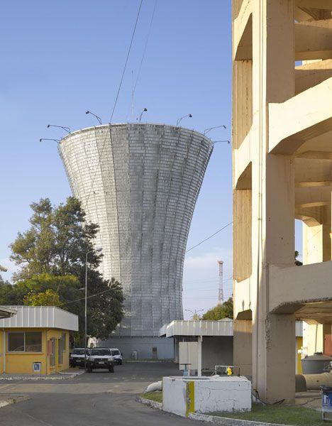 Water Tower in Rancagua by Mathias Klotz #watertower #mathiasklotz