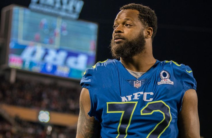"""Michael Bennett was a guest Wednesday on Fox Sports' sports debate show """"Undisputed"""" with Skip Bayless, Shannon Sharpe and Joy Taylor."""