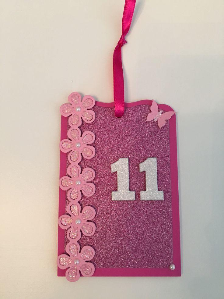 Indbydelse til fødselsdag 11 år