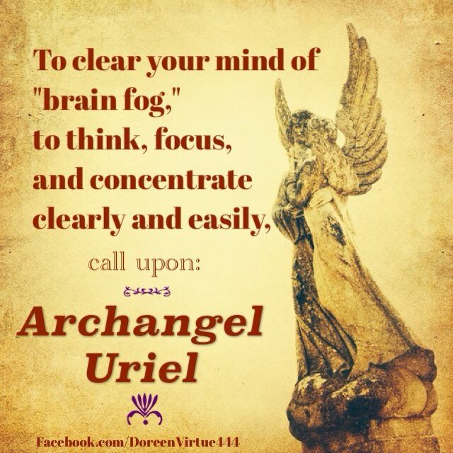 Archangel Uriel prayer - Doreen Virtue #quotes www.facebook.com/angelsoflight44