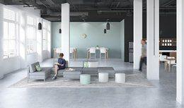 Mobilier de bureau - collection Stad - Sytème de mobilier de bureau | Groupe Lacasse