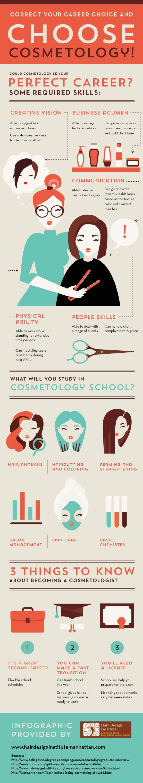 Cosmetologists must be able to manage hectic schedules! These professionals should also know how to promote services and recommend products to clients. Learn more about entering the beauty industry by reading through this infographic from a cosmetology school in Manhattan.