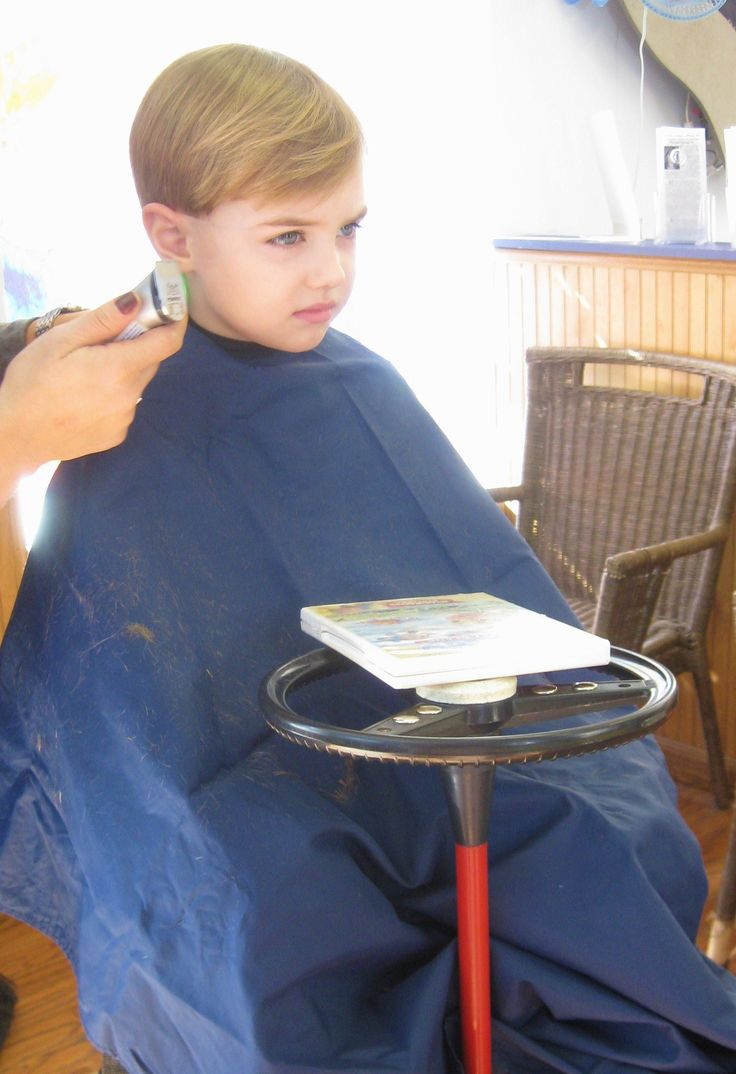 Image Detail For Little Boy Getting A Haircut