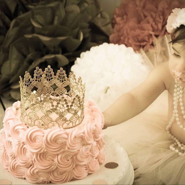 Incredible Edibles Bakery loves Gold crown Cake topper / Crown Cake Topper / Cake Topper Photo Prop / mini cake smash crown / MADE IN USA. by ATARAHSCREATIONS on Etsy https://www.etsy.com/listing/238614709/gold-crown-cake-topper-crown-cake-topper