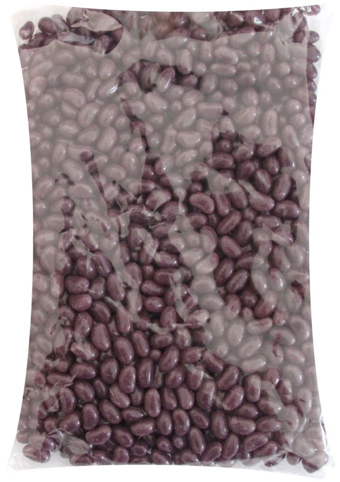 A bulk bag of Small Purple Jelly Beans.
