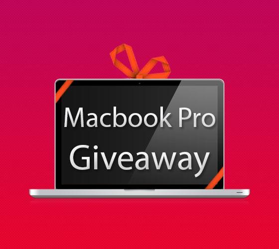 """Macbook Pro 15"""" Giveaway"""