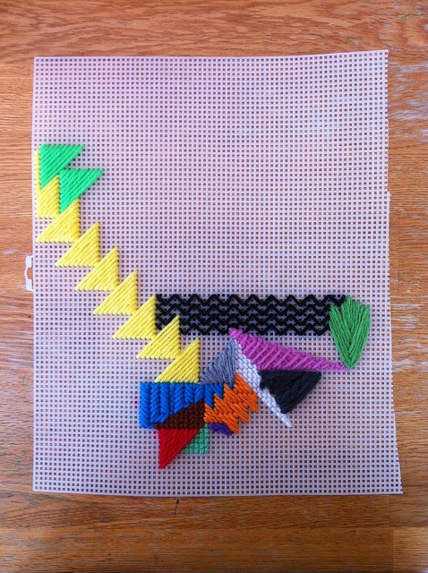 Best 53 Embroidery Plastic Canvas Ideas On Pinterest   Latch Hook Rugs Plastic Canvas And Weaving