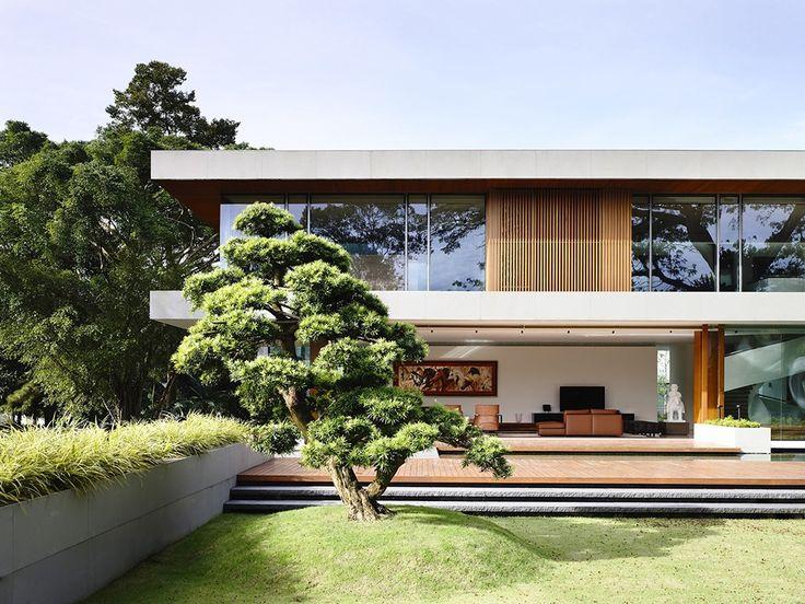 casa contemporânea linear