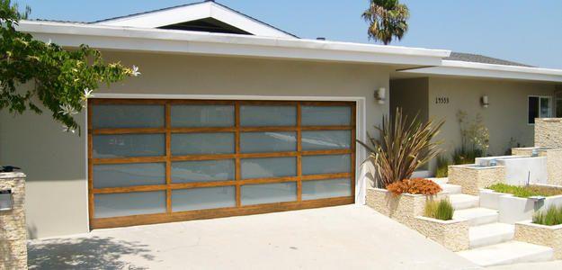 Martin Garage Doors | Modern low cost glass garage door