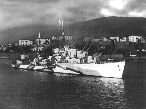 HMS Lightning (G55) L-class destroyer of the British Royal Navy. (wikipedia.image)