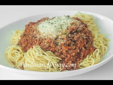 How to Make Spaghetti with Meat Sauce - http://2lazy4cook.com/how-to-make-spaghetti-with-meat-sauce/