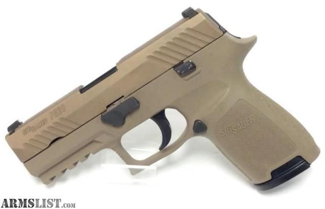 For Sale:  Sig Sauer P320 FDE Compact Cal. 40S&W ** Layaway Available **