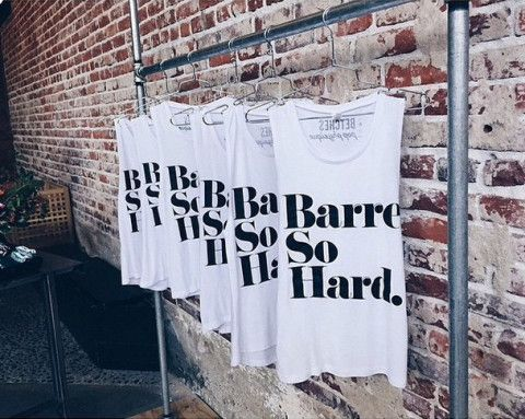 Barre So Hard Limited Edition Tank
