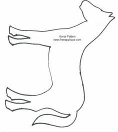 basic horse shape - Google Search