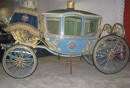 Royal carriag- Pahlavi dynasty by Banafsh