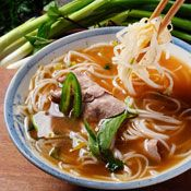 Vietnamese Pork-and-Noodle Soup, Recipe from Cooking.com