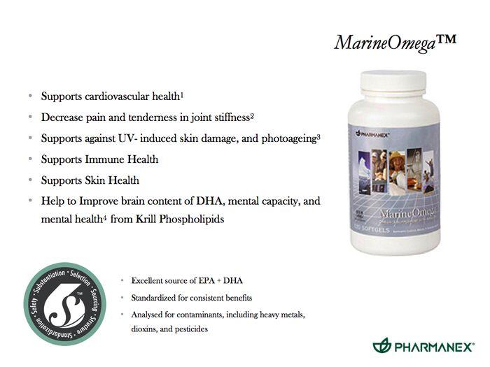 MarineOmega™ adalah suplemen makanan yang menyediakan asam lemak Omega-3 yang esensial dan minyak krill yang kaya akan EPA dan DHA untuk kesehatan optimal dan kebugaran, termasuk fungsi jantung normal, fungsi otak, kekebalan tubuh dan kesehatan persendian. Rp. 538.000,-
