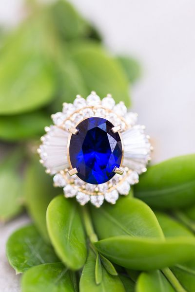 Engagement Ring Inspiration! This #unique vintage ring is sure to catch everyone's eye. Photo by Stephanie Younce Photography on Southern Weddings