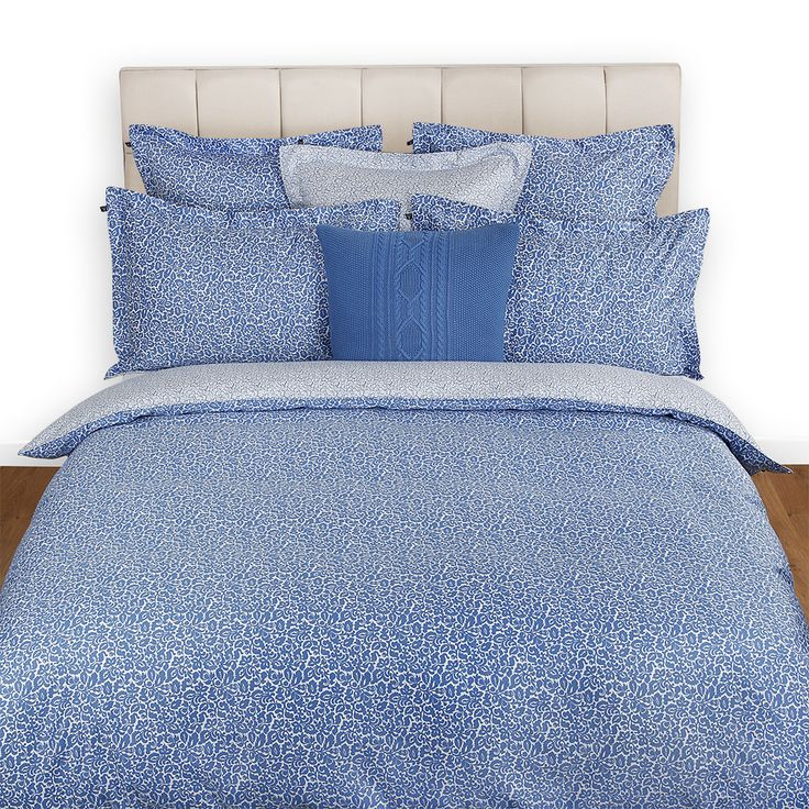 Serena Blue Duvet Cover