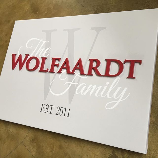 Our Family Est design is also available as a canvas with our trademark wooden lettering!   Perfect for those who plan to move or are renting.   #lovecocodecor #wallart #interiors #family #canvasart #familywall #homedecor
