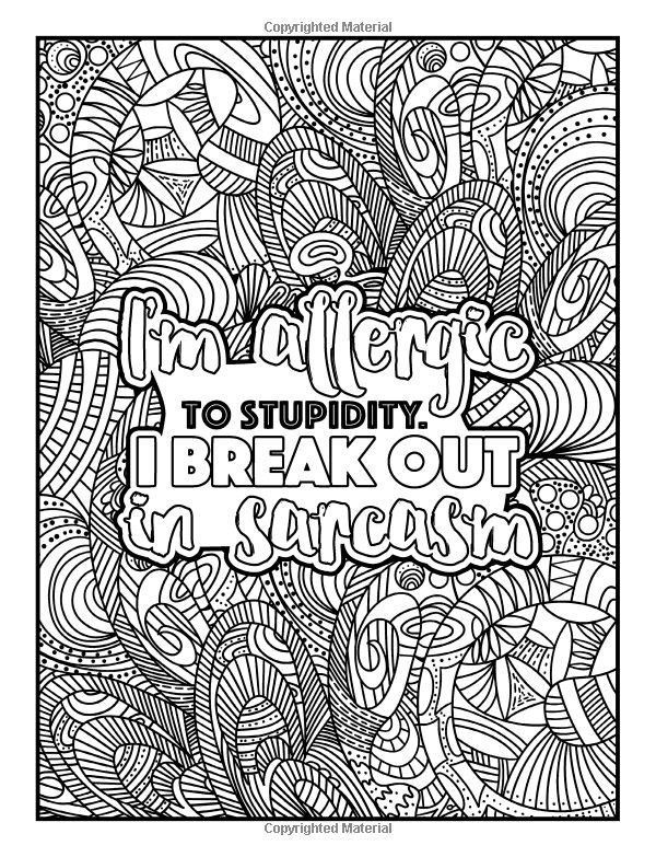 468 best Swear Word Coloring Pages images on Pinterest