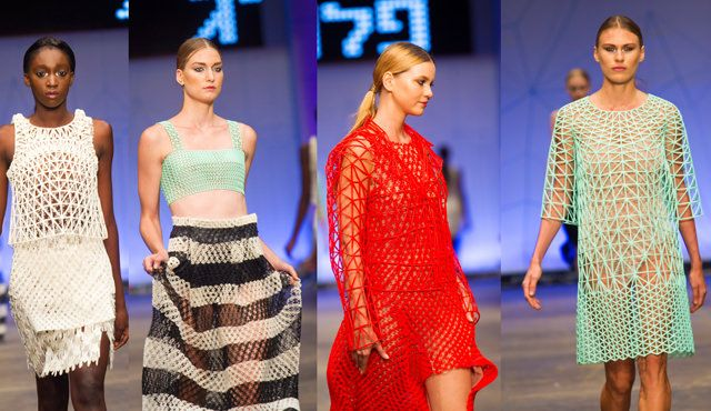 3D print FashionShow Danit Peleg, is a Fashion Student from Shenkar College of Engineering and Design in Israel, and she just had her 3D print Fashion Show.   #3d print fashion show #innovation #Israel
