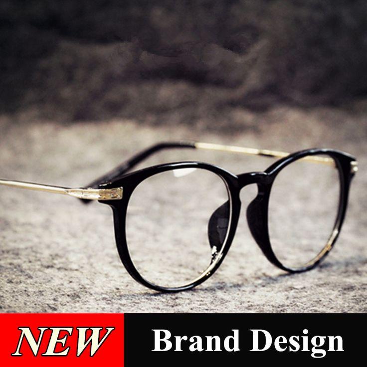 2016 New Fashion Eye Glasses Frames For Women Men Brand Design Retro Optical Myopia Computer Female Lady Eyeglass Eyewear Frames