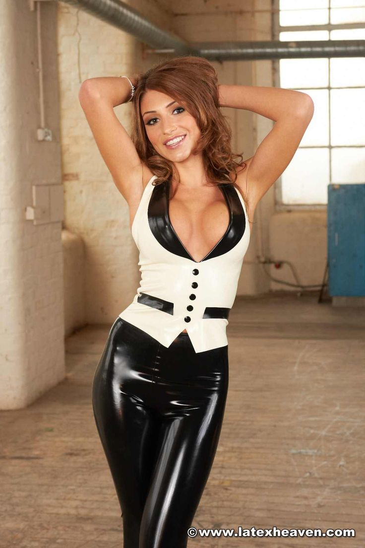 Sexy milf in latex