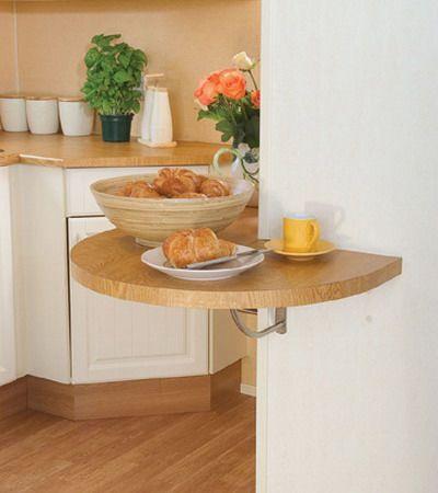 Столики для маленькой кухни: супер-коллекция творческих идей